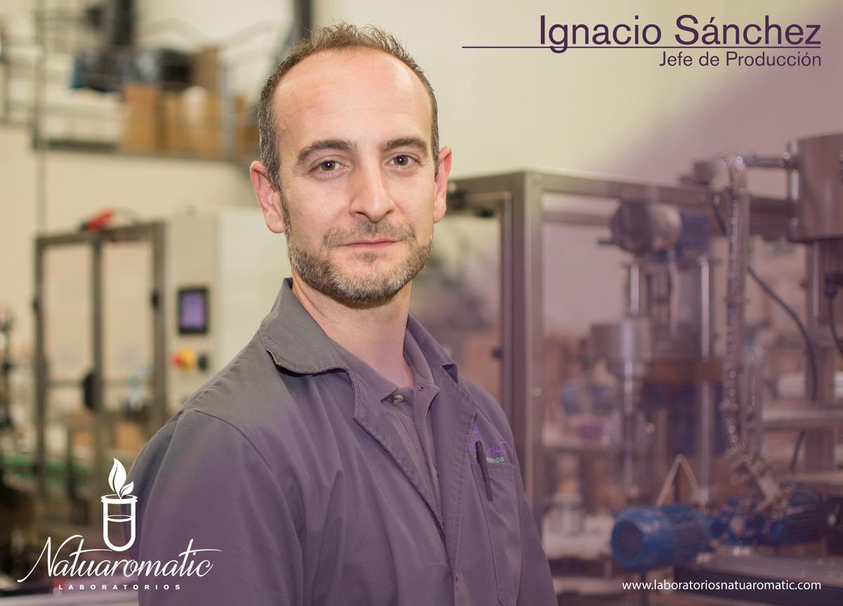 Ignacio Sánchez, Jefe de Producción de Natuaromatic