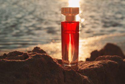 perfume at sunset